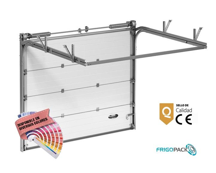2 muelles para puerta de garaje o garaje de acero galvanizado