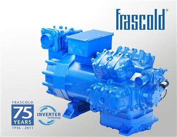 compresor. compresor semi-hermético frascold modelo w70-228axh de 70cv