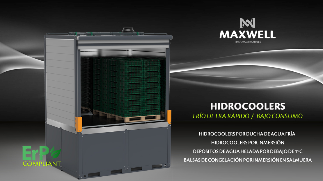 Hidrocooling by Maxwell
