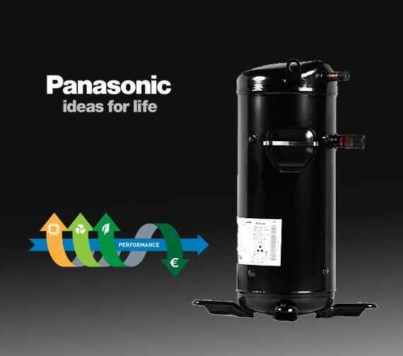 Compresores Panasonic (Sanyo) Scroll SB series